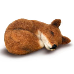 felted small fox