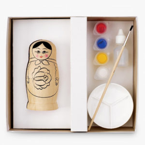 paint russian doll kit