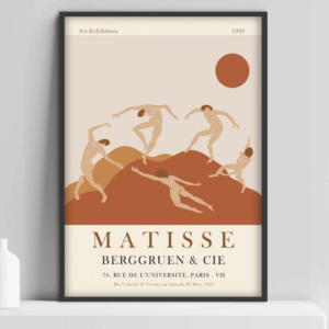 Poster of Matisse exhibition