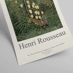 Poster of Rousseau's Tropical Forest
